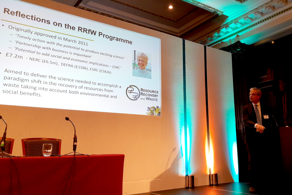 Ned Garnett, NERC: Reflections on the RRfW programme and the future funding landscape